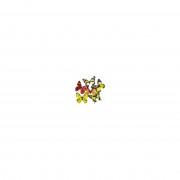 Nature Plush Planet Magneten vlinder geel/oranje 13.5 cm