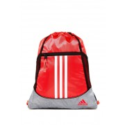 adidas Alliance II Sackpack SHOCK RED-HEATHER CLEAR GREY-WHITE