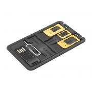 Organizator Cartele SIM, cititor card micro SD si cheita Sim, Blow