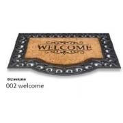 Impala gumi kókusz lábtörlő, welcome-goodbye 45x75cm/Cikksz:111004