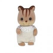 Baby Sylvanian Families Doll Walnut Squirrel