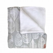 Witlof for kids Tuck-Inn ledikantdeken Beleaf Warm Grey