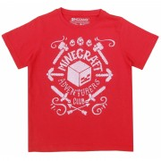 Tricou Minecraft ORIGINAL licenta Mojang Red