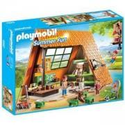 Комплект Плеймобил 6887 Хижа за къмпинг, Playmobil, 2900152