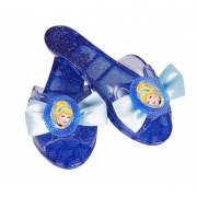 Papuci pentru fetite Disney Princess Cenusareasa, 17 cm, 3 ani+, Albastru