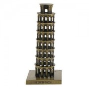 ELECTROPRIME Leaning Tower of Pisa Model Metal Crafts Home Decoration Furnishing Objects