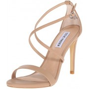 Steve Madden Women's Feliz Dress Sandal, Natural, 6 M US