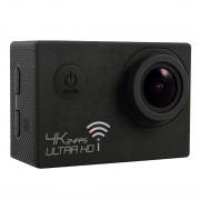 SJ8000 WiFi Novatek 96660 Ultra HD 4K caméra vidéo LCD 2.0 pouces avec étui étanche, objectif grand angle 170 degrés, 30m étanche (noir)