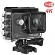 SJCAM SJ5000X markéting para cámara de acción 4 KB 1080P wi-fi impermeable 170° lente gran angular de 30 megapíxeles SONY IMX078 del giróscopo AV u HDM I y conserva el compatible con OSD (negro)