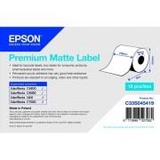 Epson Papel para Etiquetas EPSON Rollo continuo de Premium Matte Label 102 mm x 35 m
