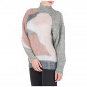 Alberta Ferretti Dolcevita collo alto maglione maglia donna