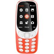 """GSM, NOKIA 3310, DualSIM, 2.4"""", Warm Red (A00028233)"""