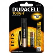 Duracell 20 Lumen TOUGH LED Keyring Torch (KEY-3)