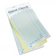 Guest Check Book, Carbonless Duplicate, 3 2/5 X 6 7/10, 50/book, 50 Books/carton