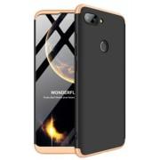Protectie Spate GKK 360 6972170531582 pentru Xiaomi Mi 8 Lite (Negru/Auriu)