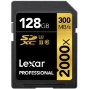 LEXAR Cartão SDXC 128GB Professional UHS-II (2000x)