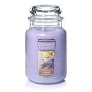 Yankee Candle Lemon Lavender Large Jar Retail Box
