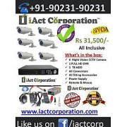 CCTV Camera Chandigarh Offer:-6 CCTV Cameras Kit