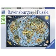 PUZZLE LUMEA ANIMATA, 1500 PIESE - RAVENSBURGER (RVSPA16360)