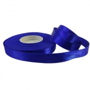 De-Ultimate Royal Blue Satin Ribbon Roll of 18 Meter 1/2 Inch Width for Decorations Gift Wrapping Arts And Craftwork