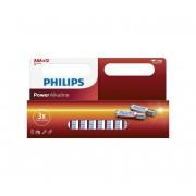 Philips LR03P12W/10 - 12 buc Baterie alcalina AAA POWER ALKALINE 1,5V
