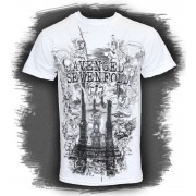 tricou stil metal bărbați Avenged Sevenfold - Land Of Cain - ROCK OFF - ASTS19MW