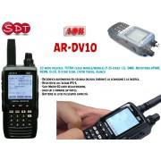 AOR AR-DV10 RICEVITORE-SCANNER PORTATILE ANALOGICO-DIGITALE DA 100KHz a 1300MHz