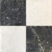 Jabo Anticato marmer tegel 20x20 cm dambord (25 stuks)