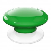 Buton wireless smart home verde FIBARO fgpb-101-5 zw5, Z-Wave, RF 50 m, 868.4 MHz / 869.8 MHz