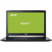 Лаптоп NB Acer Aspire 7 A717-72G-70VU 17.3 Full HD IPS ComfyView Intel Core i7-8750H NVIDIA GeForce GTX 1060 6GB GDDR5 VRAM 8GB DDR4, NH.GXEEX.025