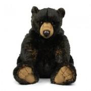 WWF Grizzly black sitzend 32 cm