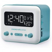 energy-sistem Energy Sistem Clock Speaker 2 Rádio Despertador Bluetooth 5W Azul