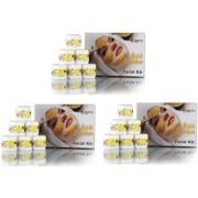 Adidev Herbals Skin Care Haldi-Chandan Facial Kit Combo (Set Of 3) 750g