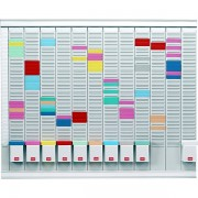 Professional Planner con schede a T Nobo - 66x80 cm - 32938864 - 132080 - Nobo