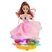 Dancing Queen Doll with Music and Light Toy for Kids, Musical Lighting B/O Toy, Best Birthday Gift For Baby Girl