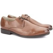 Clarks Amieson Walk Tan Leather Lace Up For Men(Tan)