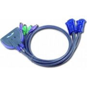 Switch KVM ATEN 2 porturi PS2 CS62S 0.9m