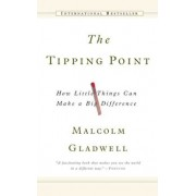 The Tipping Point: How Little Things Can Make a Big Difference, Hardcover/Malcolm Gladwell
