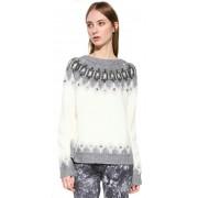 Desigual Doamnelor pulover Jers Alberta 17WWJF96 2038 XS