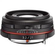 Pentax SMC DA 21mm f/3.2 AL Limited fekete