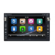Navigatie GPS Audio Video cu DVD si Touchscreen Volkswagen VW Chico 2004-2009 + Cadou Card GPS 8Gb