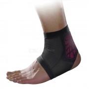 MLD LF1127 proteccion del pie del tobillo - negro + rojo (l)