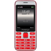"GSM, Prestigio Grace A1, 2.8"", Dual SIM, Red (PFP1281DUORED)"