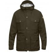 FjallRaven Ovik Eco-Shell Jacket - Dark Olive - Regenjacken S