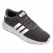 Adidas Men's Lite Racer Gray Sports Shoes