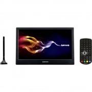 """Lenco TFT-1028 Prijenosni TV 25.4 cm 10 """" Uklj. 12V auto kabel za napajanje, Uklj. DVB-T antena Crna"""