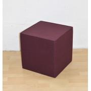 SiGN Hey-Sign Quart Sitzwürfel (40x40x40cm)- aubergine - Lagerabverkauf