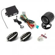 Alarma auto KeeTec TS 10 cu 2 Telecomenzi RC Moto Kft Auto