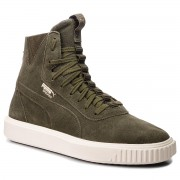 Сникърси PUMA - Breaker Hi 366599 04 Forest Night/Whisper White