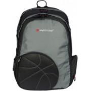 Harissons Basketball 30 L Free Size Laptop Backpack(Black, Grey)